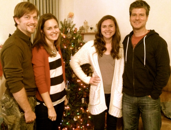 August, Mary-Hall, Bethany and Keith.  So thankful for these awesome husbands!