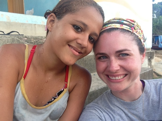 Emily and Me.  My prayers for this young heart are constant.