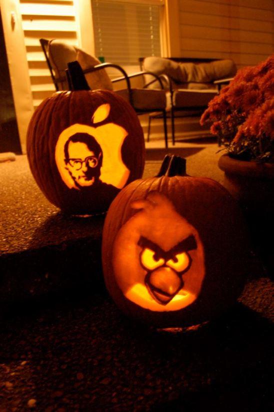 2011 - Steve Jobs (Keith Bordeaux) & the Red Angry Bird (Bethany Bordeaux)