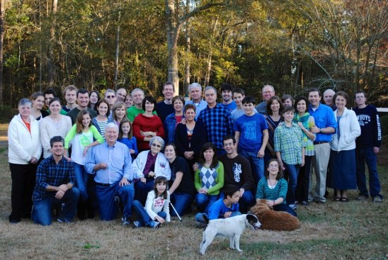 Bordeaux Family Thanksgiving 2012