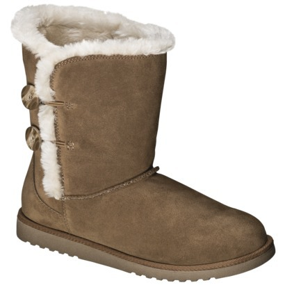 "The Kumar boot from Target....I call them my ""Fuggs"" because they are totally ""Fake Uggs"" but they make the best slippers!"