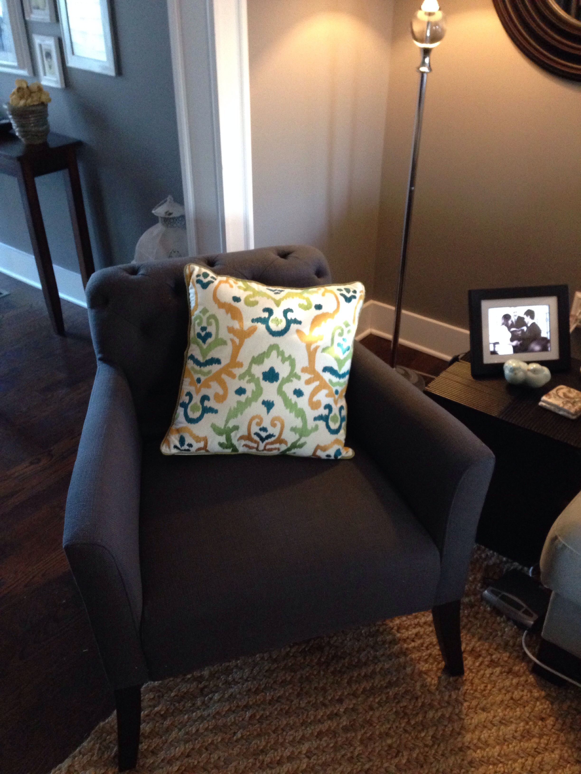 Elton The Chair In His New Home In Our Living Room....come