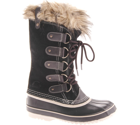 The Joan of Artic boot by Sorel.  Nothing keeps your feet toastier on a cold day!