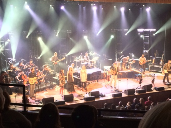 "Onstage at the Ryman...the ""Motherchurch of Country Music"""