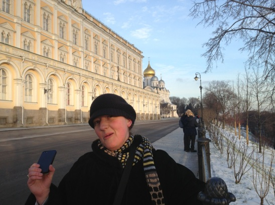 Hello Mr Putin! (at the Kremlin)
